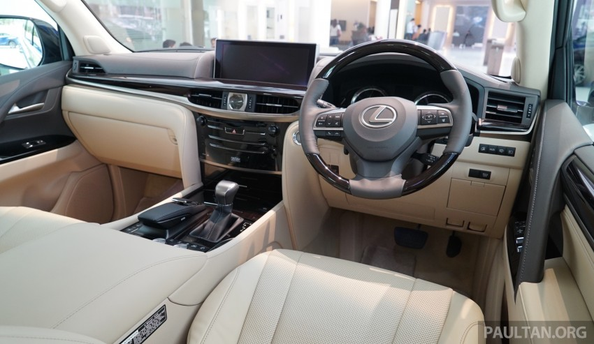 GALLERY: 2016 Lexus LX 570 in Malaysian showroom Image #414982