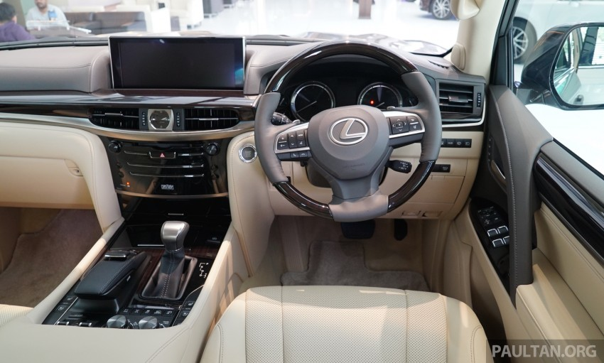 GALLERY: 2016 Lexus LX 570 in Malaysian showroom Image #414983