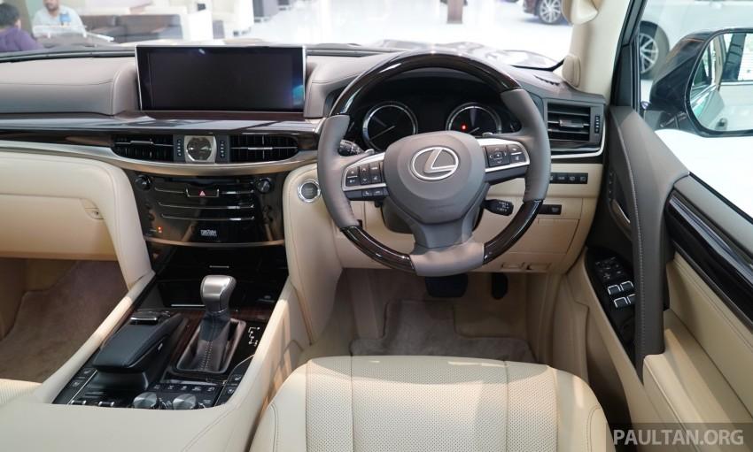 GALLERY: 2016 Lexus LX 570 in Malaysian showroom Image #414983
