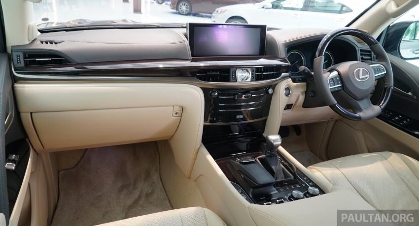GALLERY: 2016 Lexus LX 570 in Malaysian showroom Image #414985