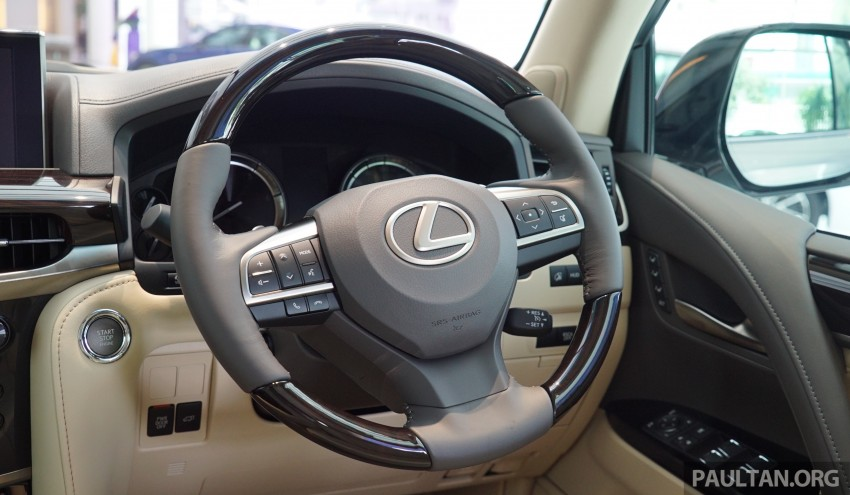 GALLERY: 2016 Lexus LX 570 in Malaysian showroom Image #414986