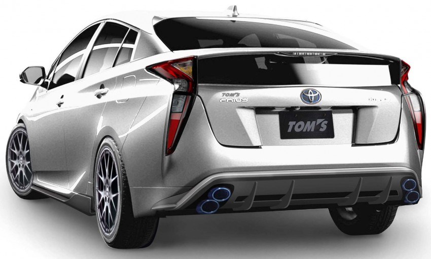 2016 Toyota Prius getting two Tom's Racing bodykits Image #418826