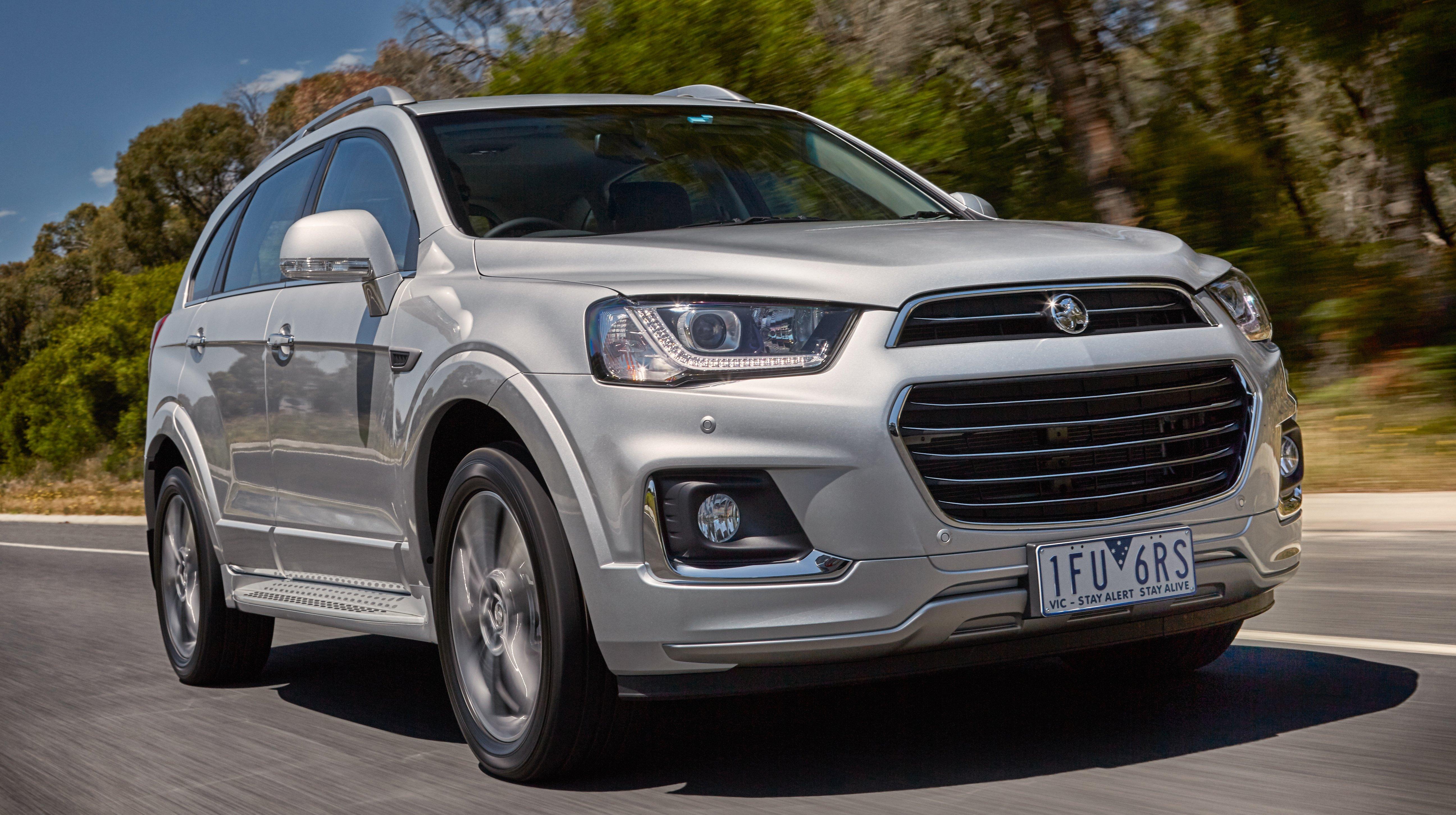Chevrolet Captiva - Australia gets new Holden facelift