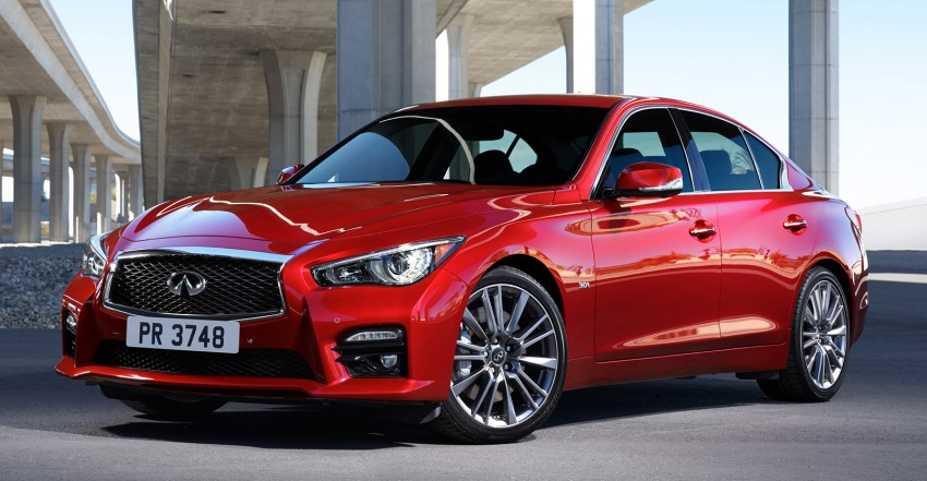 2016 Infiniti Q50 – Red Sport model with 400 hp VR V6 Image #419952