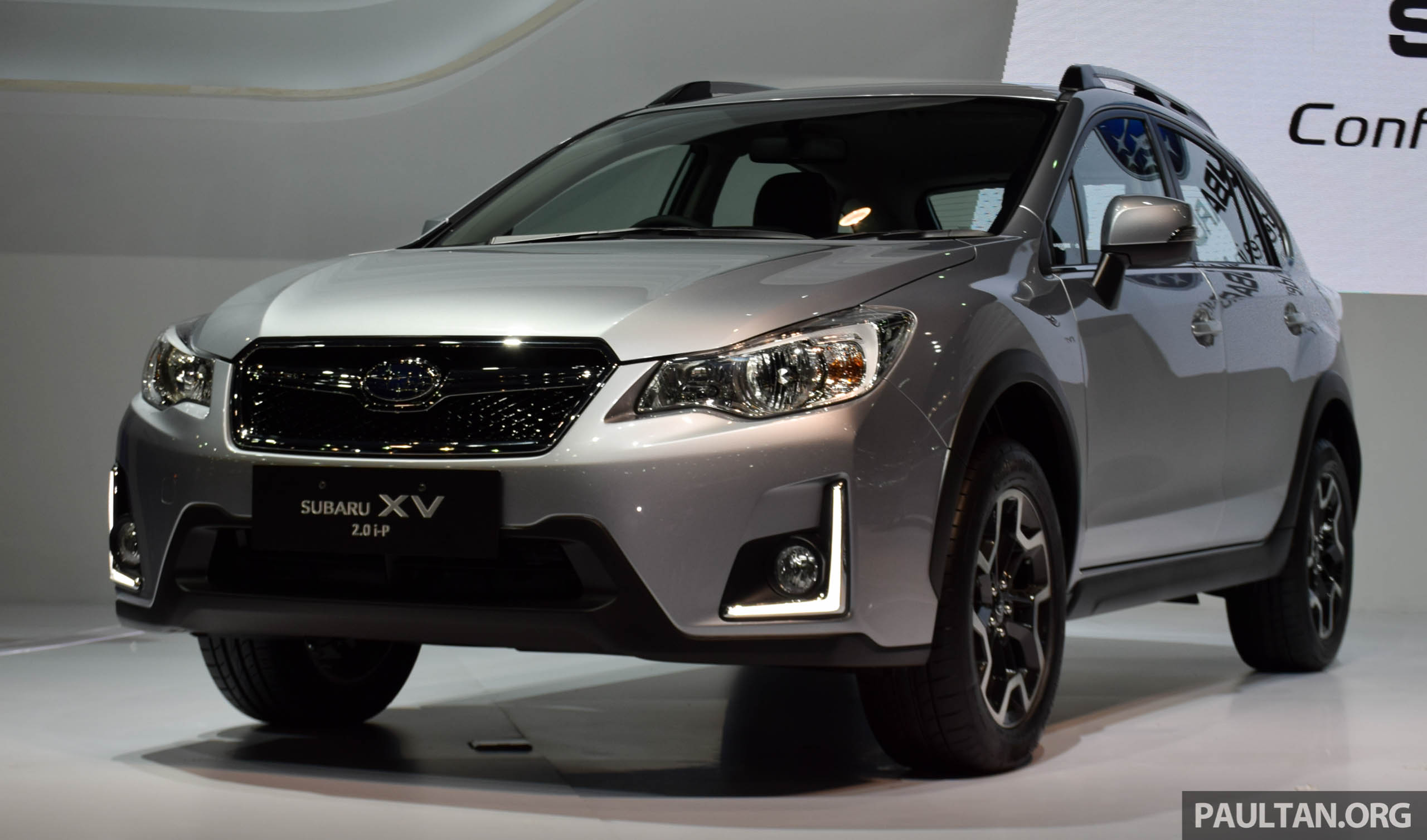 Back to Story: 2016 Subaru XV facelift launched in Bangkok, M'sian ...