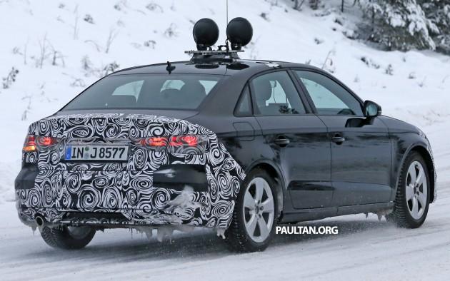 Audi A3 Sedan facelift 11