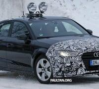 Audi A3 Sedan facelift 4
