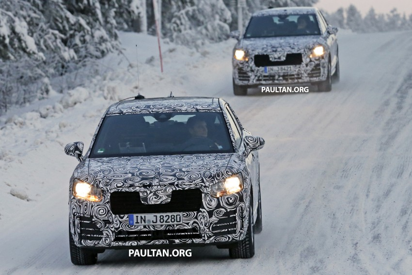 SPYSHOTS: Audi Q2 captured frolicking in the snow Image #420408