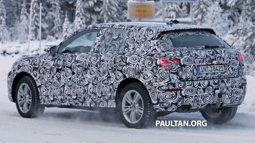 SPYSHOTS: Audi Q2 captured frolicking in the snow Image #420417