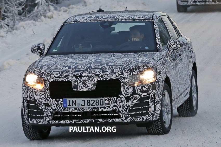 SPYSHOTS: Audi Q2 captured frolicking in the snow Image #420409