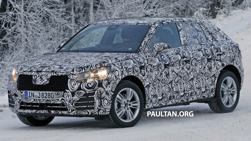 SPYSHOTS: Audi Q2 captured frolicking in the snow Image #420411
