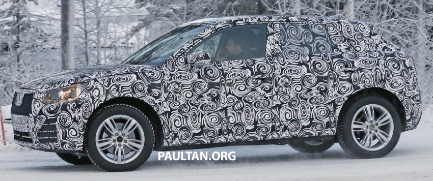 SPYSHOTS: Audi Q2 captured frolicking in the snow Image #420414