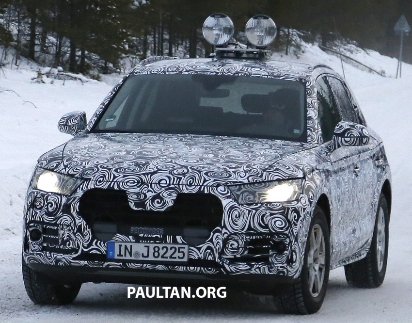 SPYSHOTS: 2017 Audi Q5 dashing through the snow Image #418460