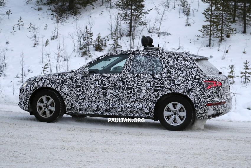 SPYSHOTS: 2017 Audi Q5 dashing through the snow Image #418465