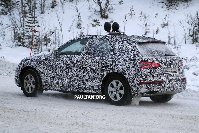 SPYSHOTS: 2017 Audi Q5 dashing through the snow Image #418468