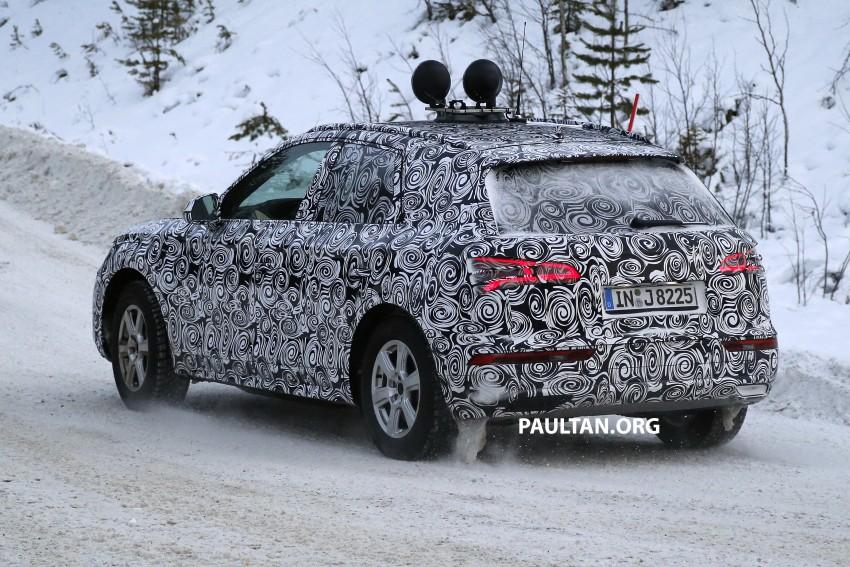SPYSHOTS: 2017 Audi Q5 dashing through the snow Image #418470
