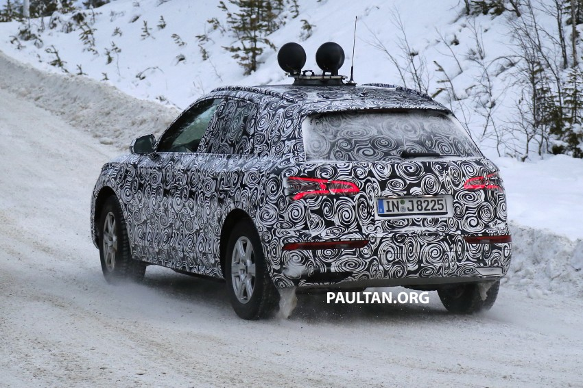 SPYSHOTS: 2017 Audi Q5 dashing through the snow Image #418472