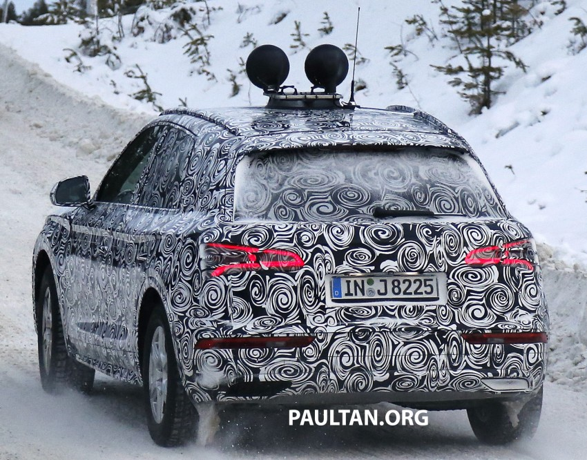 SPYSHOTS: 2017 Audi Q5 dashing through the snow Image #418473