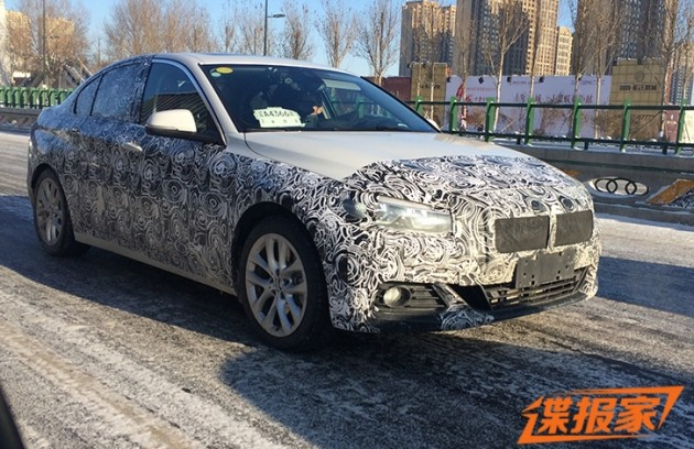 BMW 1 Series China spyshots 1