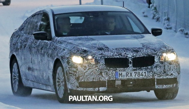 BMW 5 Series GT next-gen spyshot 1