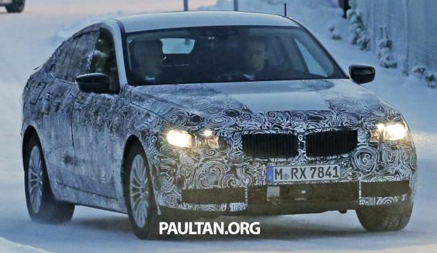 BMW 5 Series GT next-gen spyshot 1