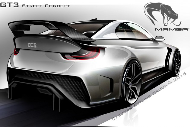 BMW M4 Mamba GT3 Street Concept with 719 hp