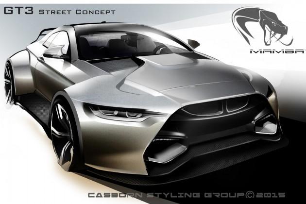 BMW M4 Mamba GT3 Street Concept-4