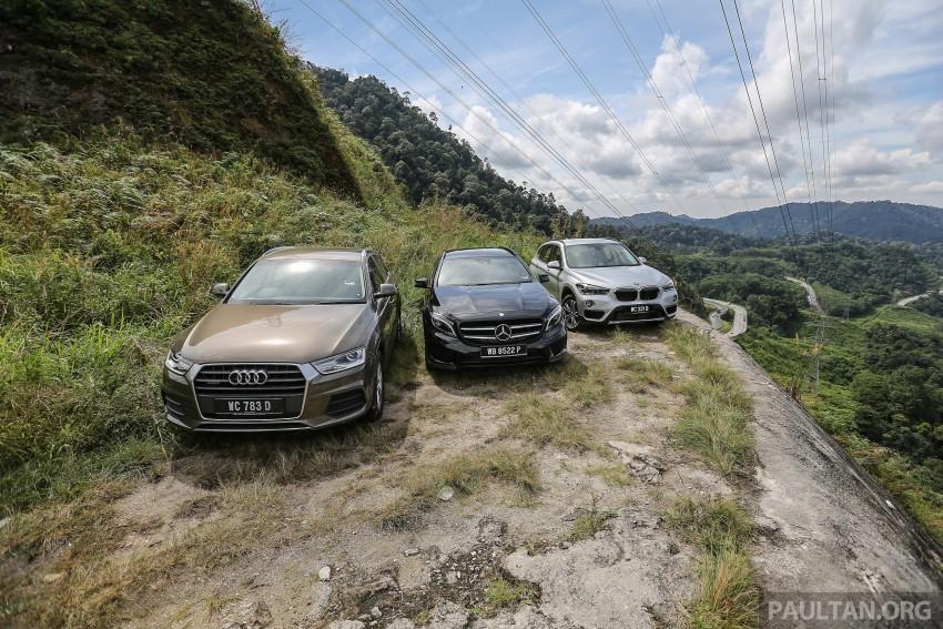 Driven Web Series 2015 #6: new premium crossovers – F48 BMW X1 vs Mercedes-Benz GLA vs Audi Q3 Image #415123
