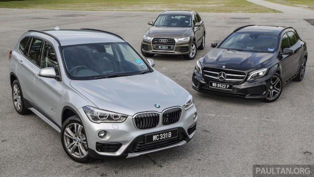 BMW X1 vs Mercedes GLA vs Audi Q3  003