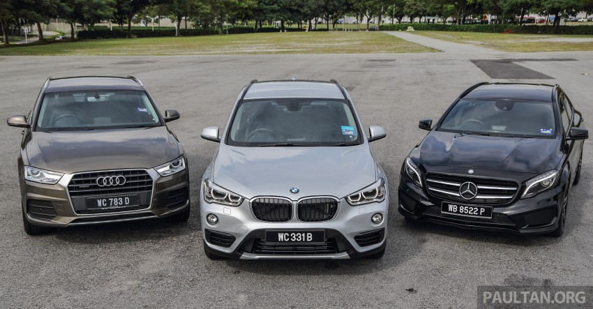 Driven Web Series 2015 #6: new premium crossovers – F48 BMW X1 vs Mercedes-Benz GLA vs Audi Q3 Image #415125