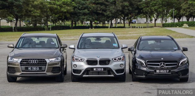 BMW X1 vs Mercedes GLA vs Audi Q3  005