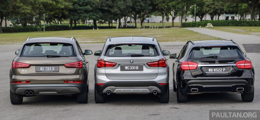 Driven Web Series 2015 #6: new premium crossovers – F48 BMW X1 vs Mercedes-Benz GLA vs Audi Q3 Image #415127