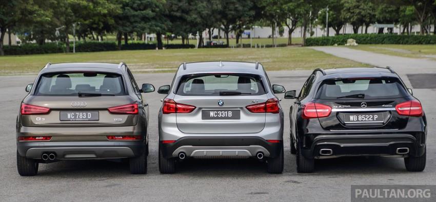 Driven Web Series 2015 #6: new premium crossovers – F48 BMW X1 vs Mercedes-Benz GLA vs Audi Q3 Image #415127