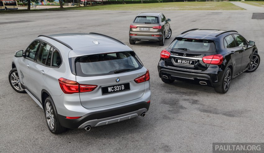 Driven Web Series 2015 #6: new premium crossovers – F48 BMW X1 vs Mercedes-Benz GLA vs Audi Q3 Image #415128