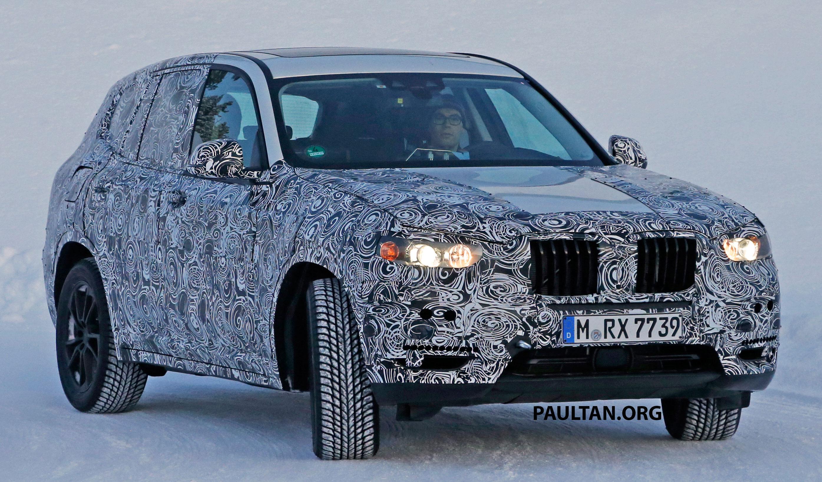 Bmw X3 G01 >> SPYSHOTS: G01 BMW X3 threading through the snow Paul Tan - Image 423449