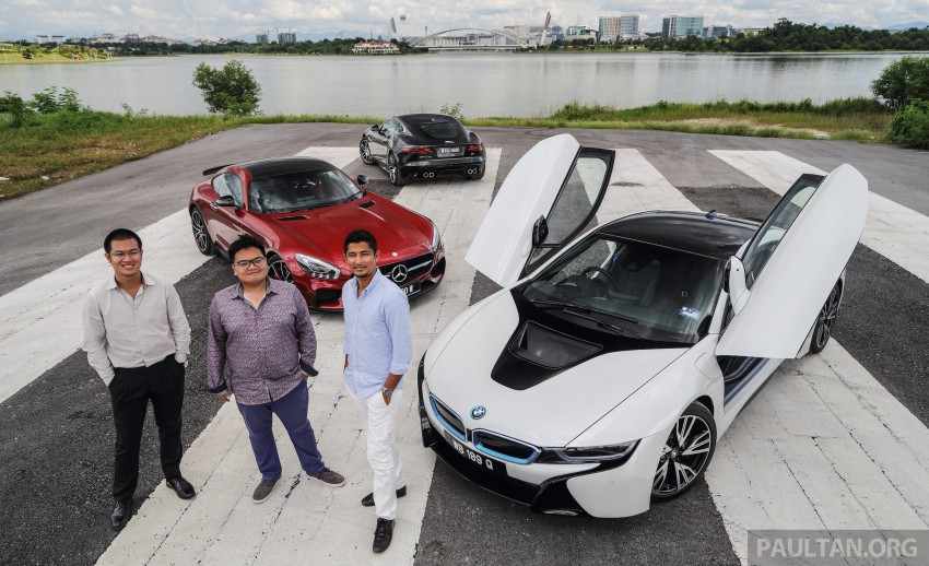 Driven Web Series 2015 #7: million ringgit sports cars – BMW i8 vs Mercedes-AMG GT S vs Jaguar F-Type R Image #417681