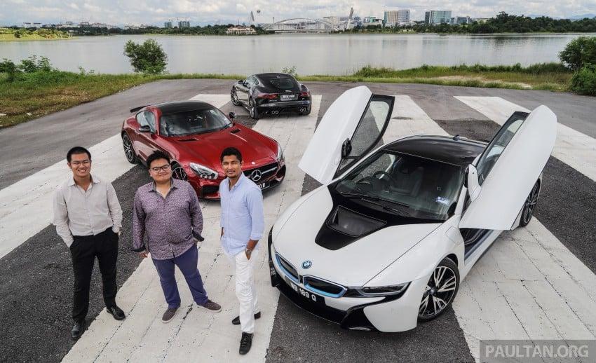 Driven Web Series 2015 #7: million ringgit sports cars – BMW i8 vs Mercedes-AMG GT S vs Jaguar F-Type R Image #417681