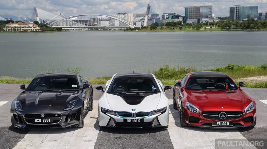 Driven Web Series 2015 #7: million ringgit sports cars – BMW i8 vs Mercedes-AMG GT S vs Jaguar F-Type R Image #417683