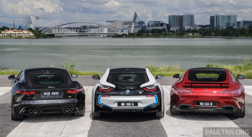 Driven Web Series 2015 #7: million ringgit sports cars – BMW i8 vs Mercedes-AMG GT S vs Jaguar F-Type R Image #417685