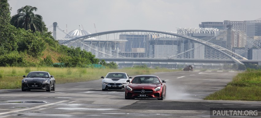 Driven Web Series 2015 #7: million ringgit sports cars – BMW i8 vs Mercedes-AMG GT S vs Jaguar F-Type R Image #417687