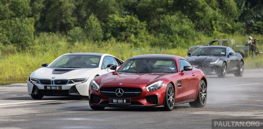 Driven Web Series 2015 #7: million ringgit sports cars – BMW i8 vs Mercedes-AMG GT S vs Jaguar F-Type R Image #417688