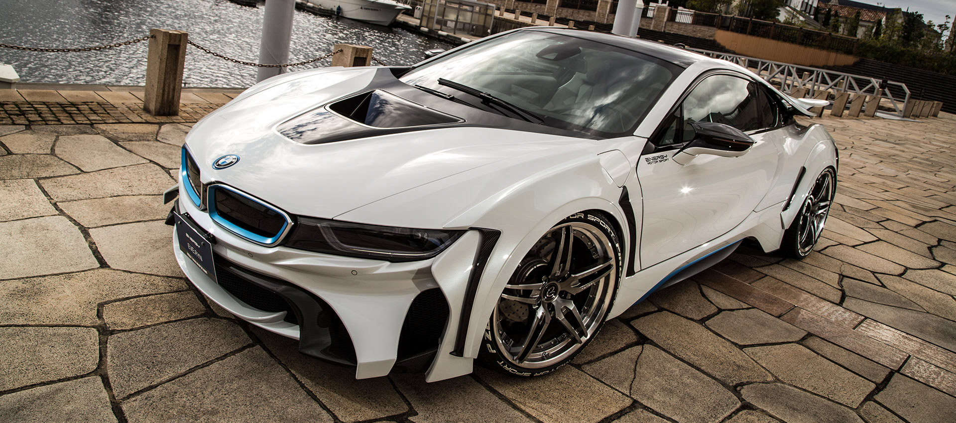 bmw i8 receives energy motor sport bodykit package image 419172. Black Bedroom Furniture Sets. Home Design Ideas