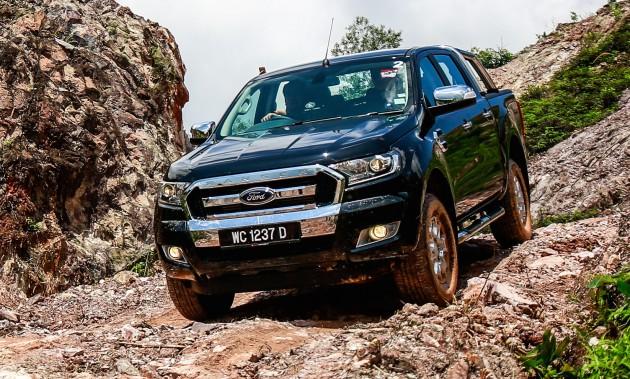Ford Ranger test drive Tadom hills-06