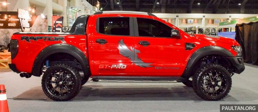 2017 Ford Ranger >> Ford Ranger Raptor aftermarket kit debuts in Bangkok Image 415908