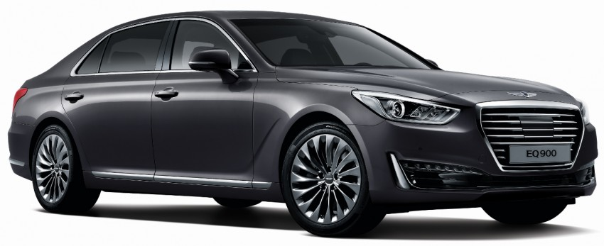 Genesis G90 (EQ900) revealed – new S-Class fighter? Image #417969