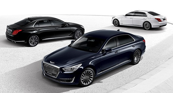 Genesis G90 (EQ900) revealed – new S-Class fighter? Image #417974