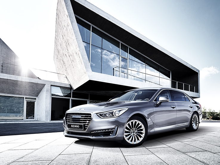 Genesis G90 (EQ900) revealed – new S-Class fighter? Image #418013