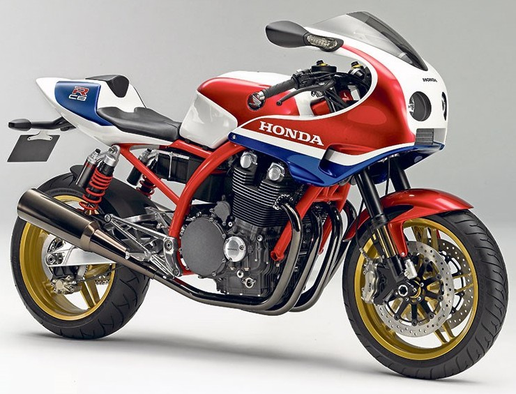 honda cb1100r concept bike closer to production. Black Bedroom Furniture Sets. Home Design Ideas