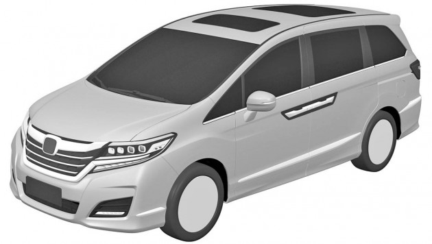 Honda Odyssey US-spec patents 1
