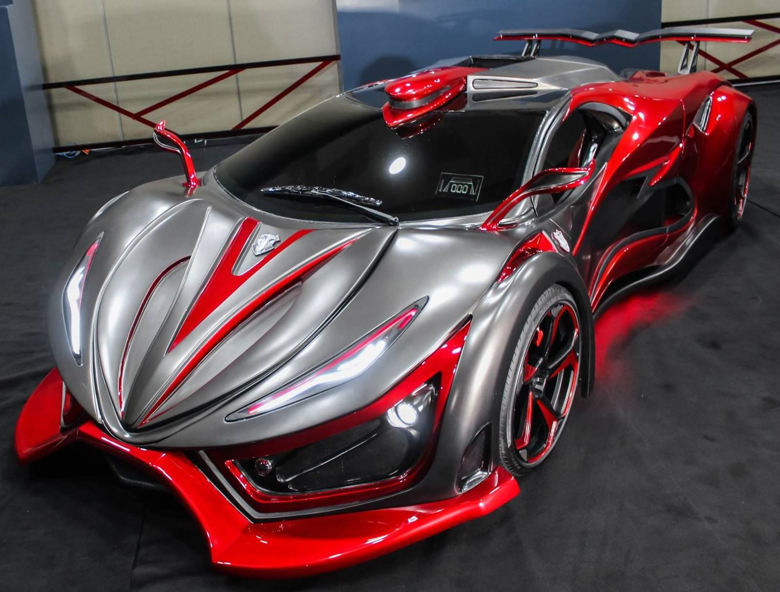 Inferno Exotic Car 2017 >> Inferno hypercar from Mexico packs 1,400 hp, 670 Nm Image 417189